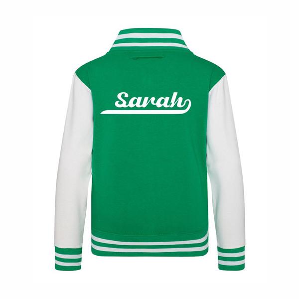 Kids Classic Varsity Jacket