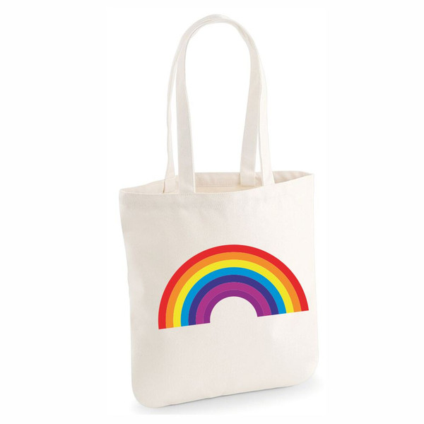 Rainbow Tote From Something Personal