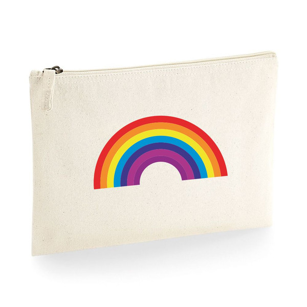 Rainbow Accessory Pouch From Something Personal