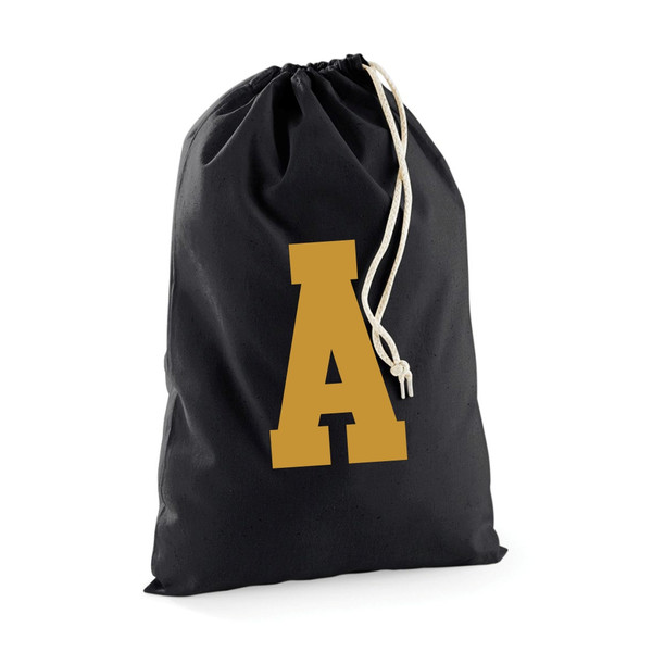 Personalised Cotton Initial Sack From Something Personal