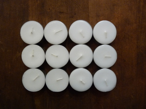 Coconut Wax Tealight Candles