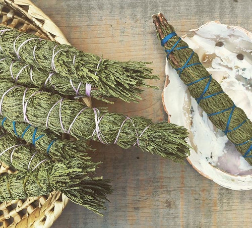 Wildcrafted Cedar Smudge