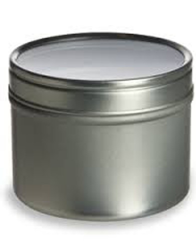 Deep Tin with Clear Lid - 4oz