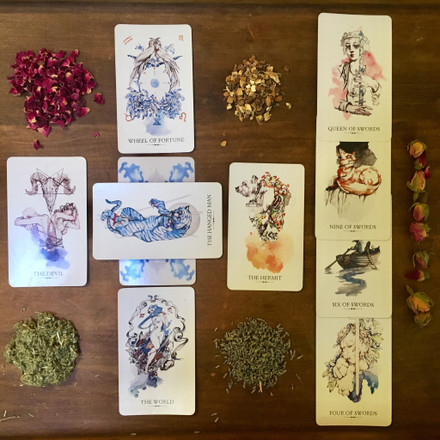 Tarot Cards: I Swore We'd Never Carry These at Herbiary