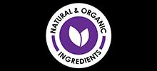 Natural & organic ingredients