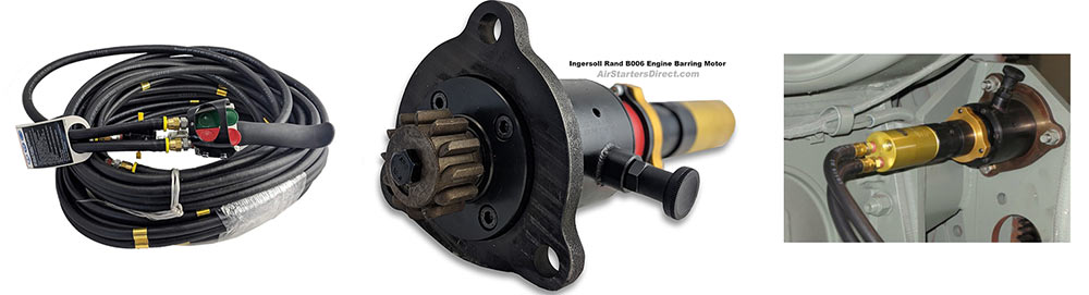 Ingersoll Rand B006 Series Engine Barring Motors Banner