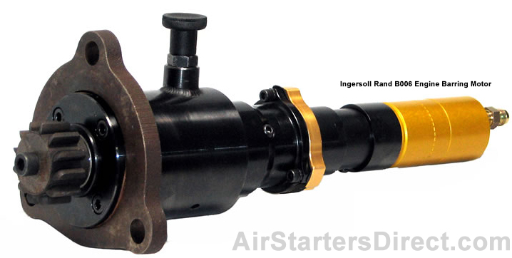 Ingersoll Rand B006 Engine Barring Motor Photo