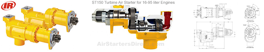 Ingersoll Rand ST150 Turbine Starter Banner