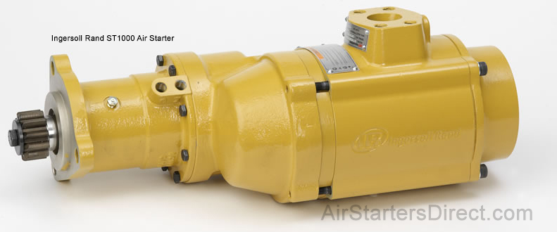 IR ST1000 Turbine Starter side view