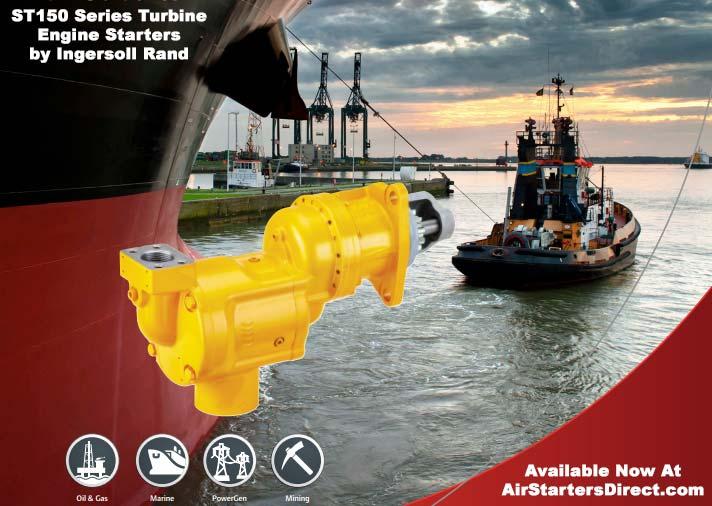 Ingersoll Rand ST150 Mid-Range Turbine Engine Air Starter - Developed Because the bar doesn't raise itself.