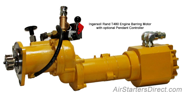 Ingersoll Rand T480 Series Engine Barring Motors
