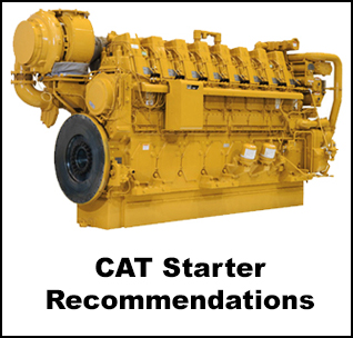 Ingersoll Rand Air Starter Recommendations For Caterpillar Engines