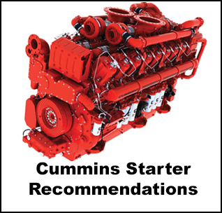 Ingersoll Rand Air Starter Recommendations For Cummins Engines