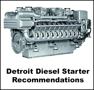 Ingersoll Rand Air Starter Recommendations For Detroit Diesel Engines