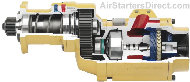 Ingersoll Rand ST1000 Air Starter Cutaway