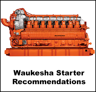 Ingersoll Rand Air Starter Recommendations For Waukesha Engines