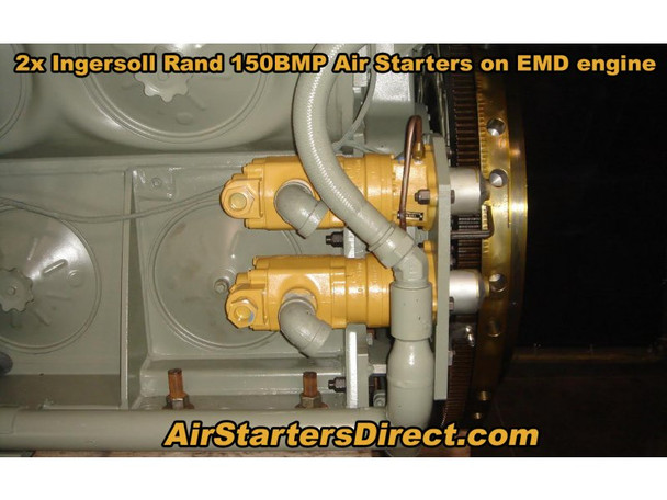 150BMGE21RH6-32M Vane Air Starter by Ingersoll Rand
