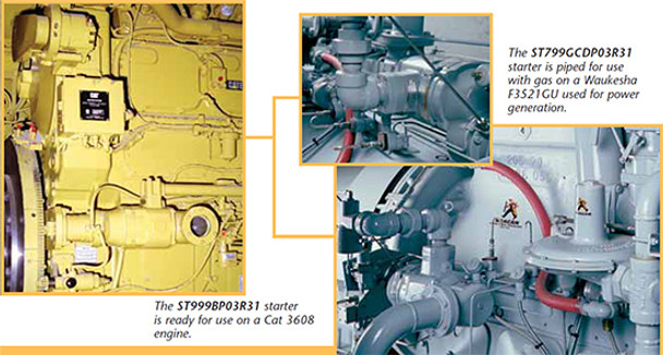 ST750GCDP03R31-P0S Turbine Air Starter by Ingersoll Rand