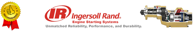 Ingersoll Rand Air Starters - Highly Recommended
