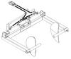 Mini Skid Steer Sod Roller Attachment (Hydraulic)