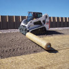 "Skid Steer Material Unroller With Stem Extension 3.5"" dia x 80"" long"