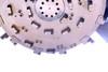 """Skid Steer Disc Mulcher Attachment 52"""" Wide Flow 32-48 gpm"""