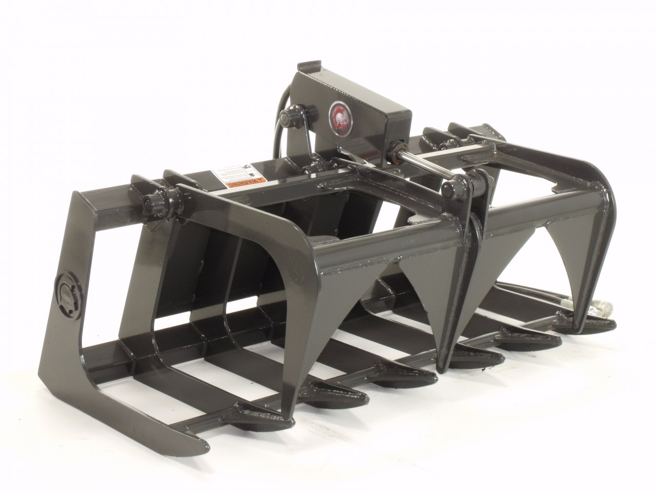 """Mini Skid Steer Root Grapple Attachment 44"""" Wide Professional Series"""