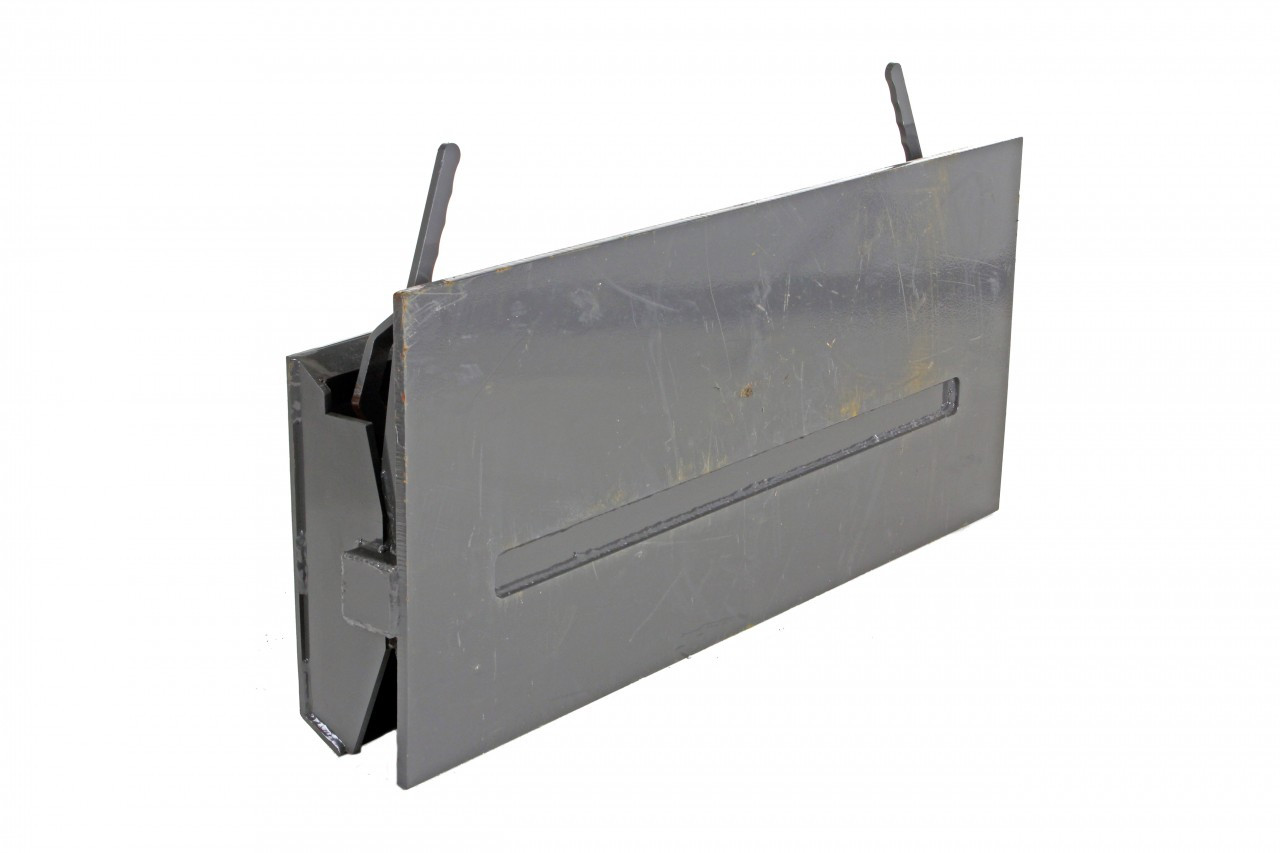 Blank Mounting to Universal Skid Steer Attachment Mounting