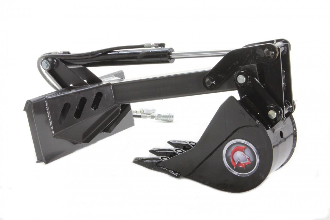 Mini Skid Steer EZ Backhoe Attachment Stiff Arm