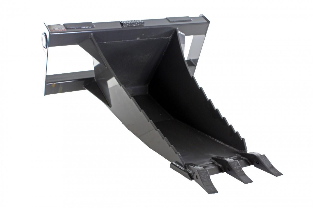Skid Steer Stump Bucket Attachment Industrial Series
