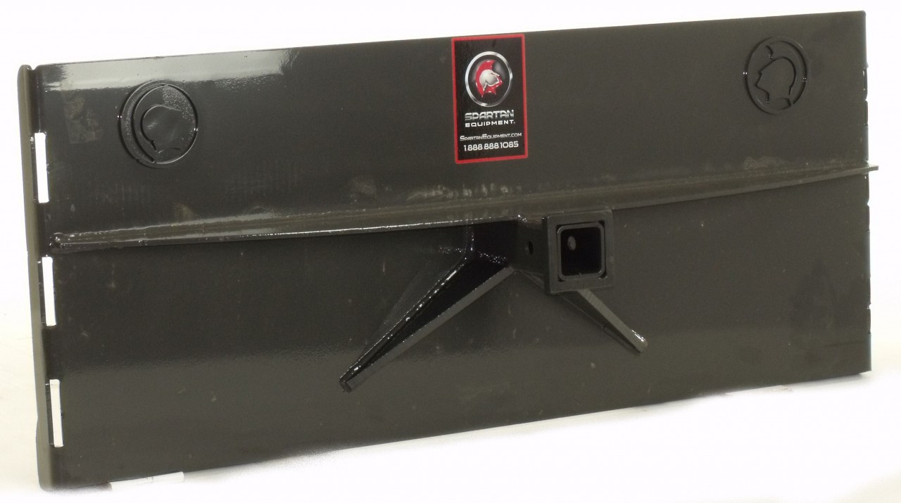 """Skid Steer Loader Attachment Utility Hitch Adapter 2"""" Receive"""