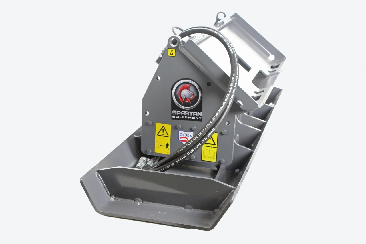 Skid Steer Vibratory Plate Compactor Attachment 72