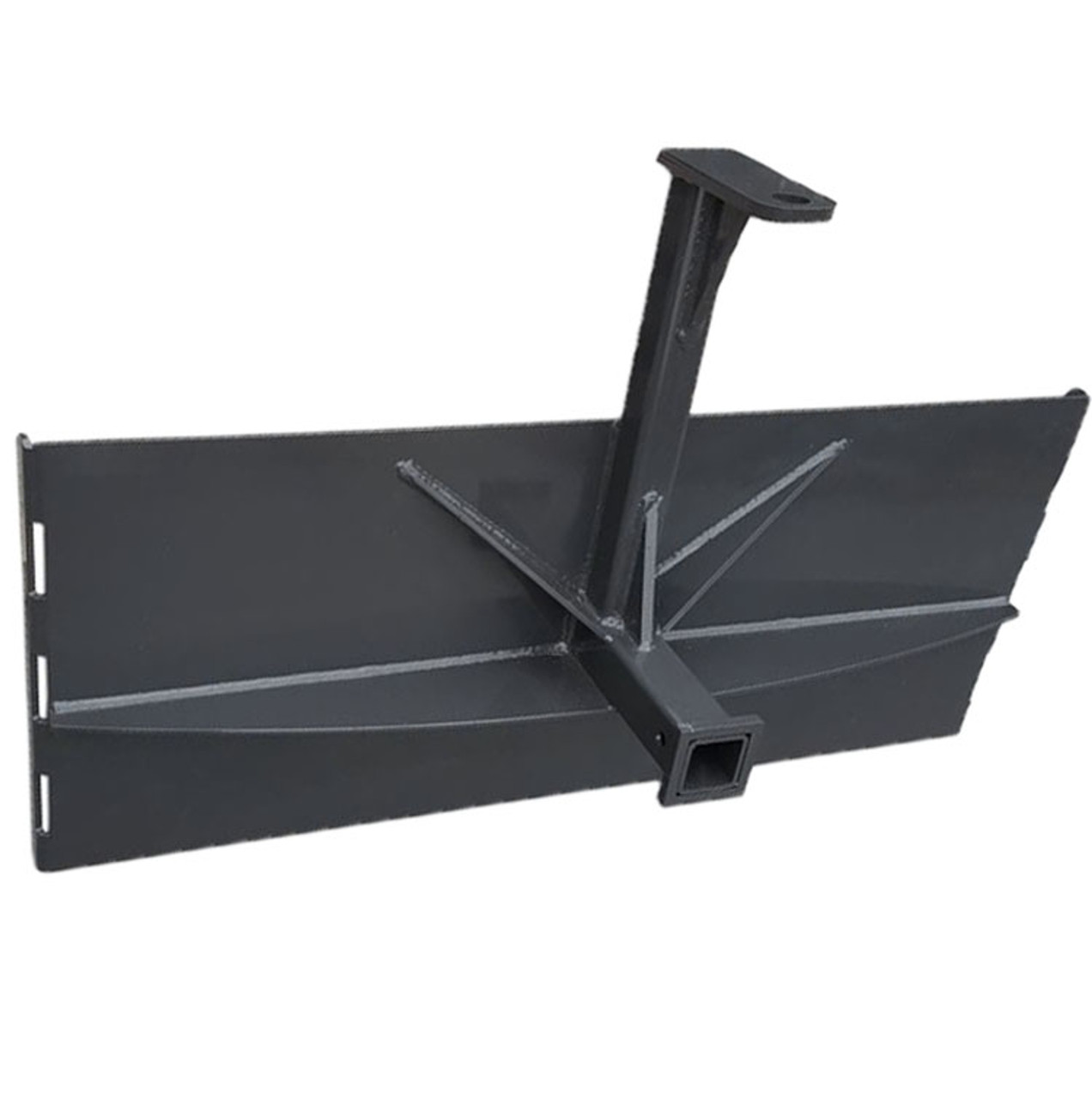 """Skid Steer Loader Attachment Utility Hitch Adapter 2"""" Receive Gooseneck Style"""