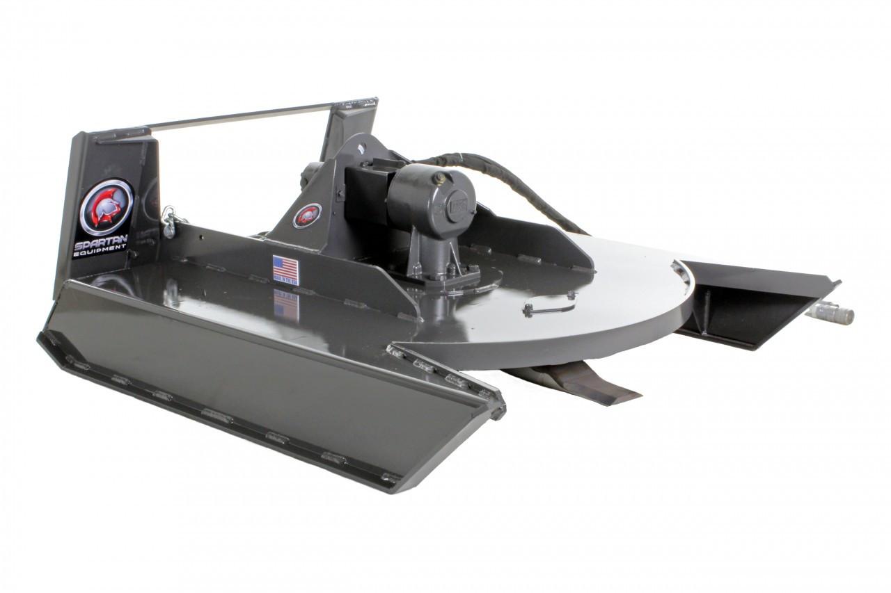 "Mini Skid Steer Brush Cutter Attachment 48"" Wide (Industrial Series)"