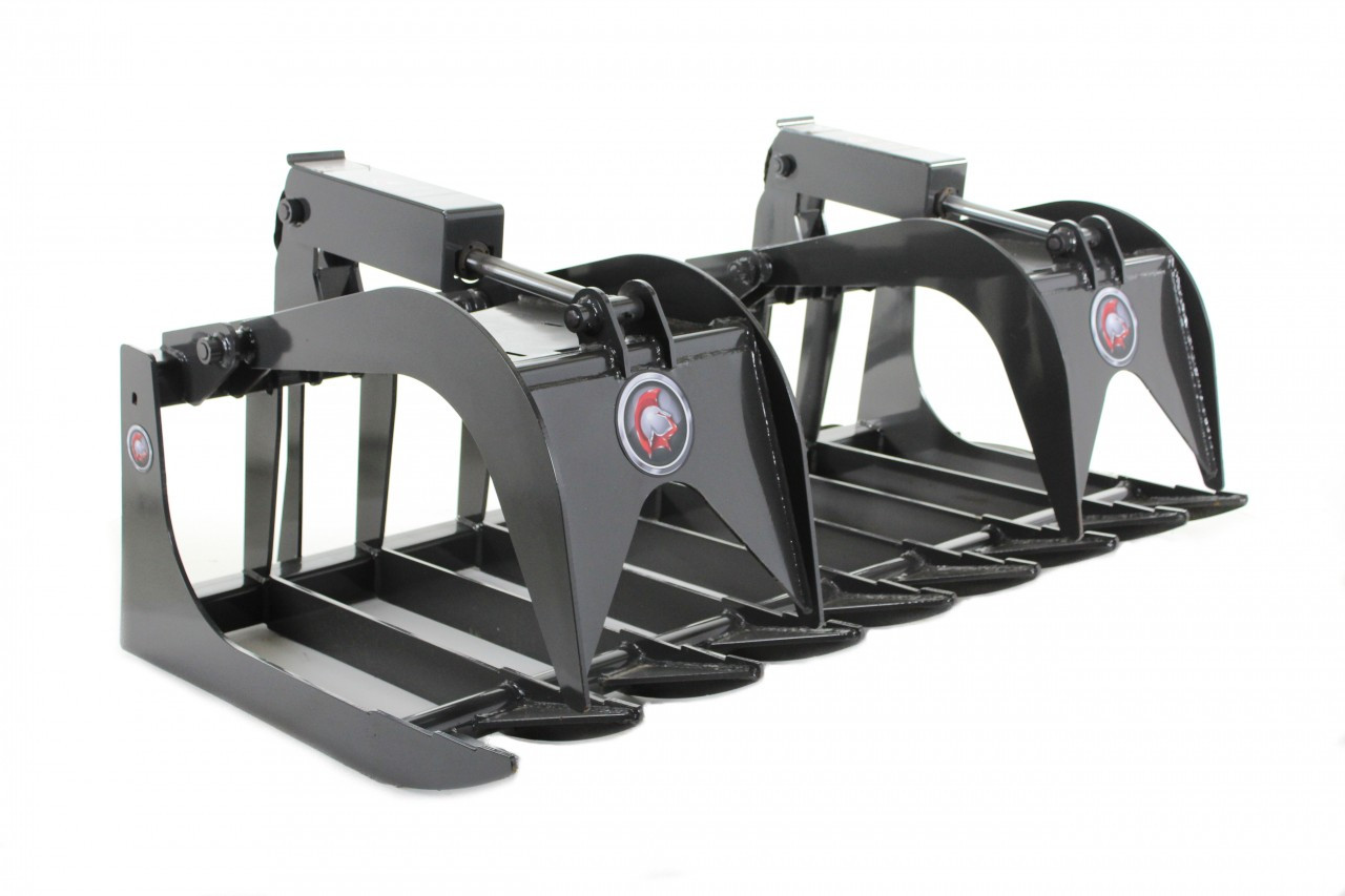 """Skid Steer Root Grapple Attachment 66"""" Wide Economy Series"""