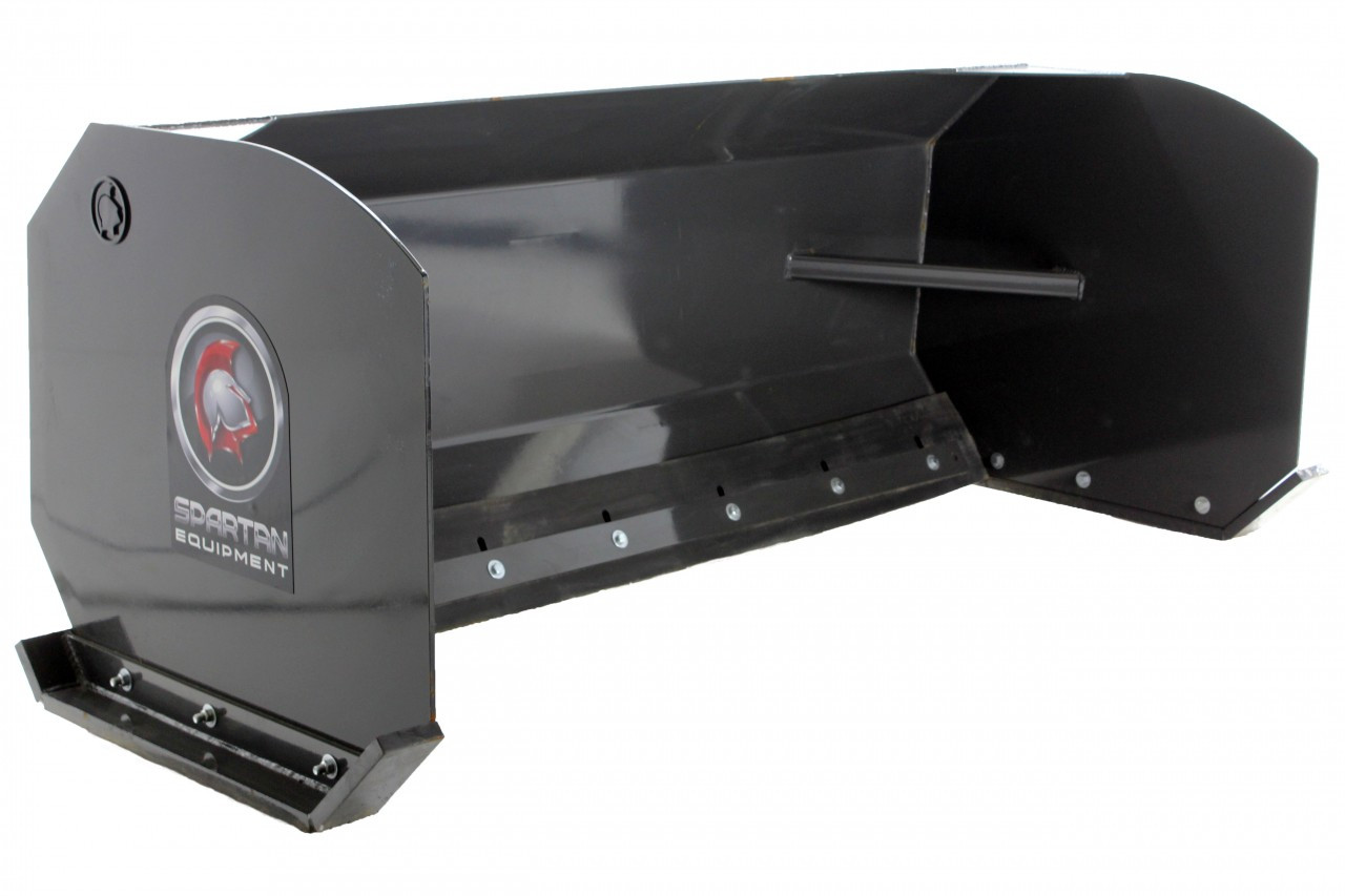 "Skid Steer Snow Pusher Box Attachment 96"" Wide"