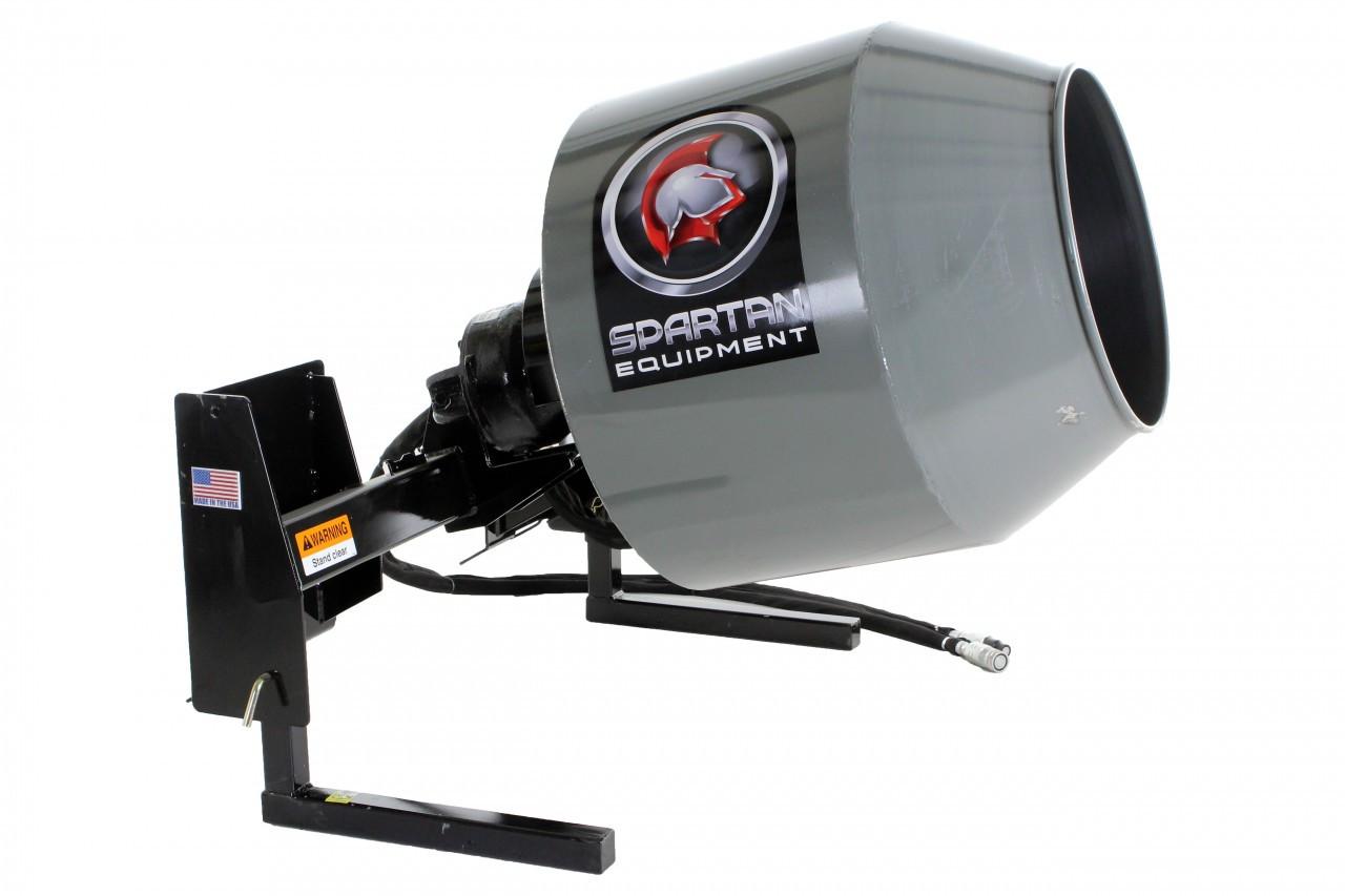 Skid Steer Concrete Mixer Attachment - Professional Series