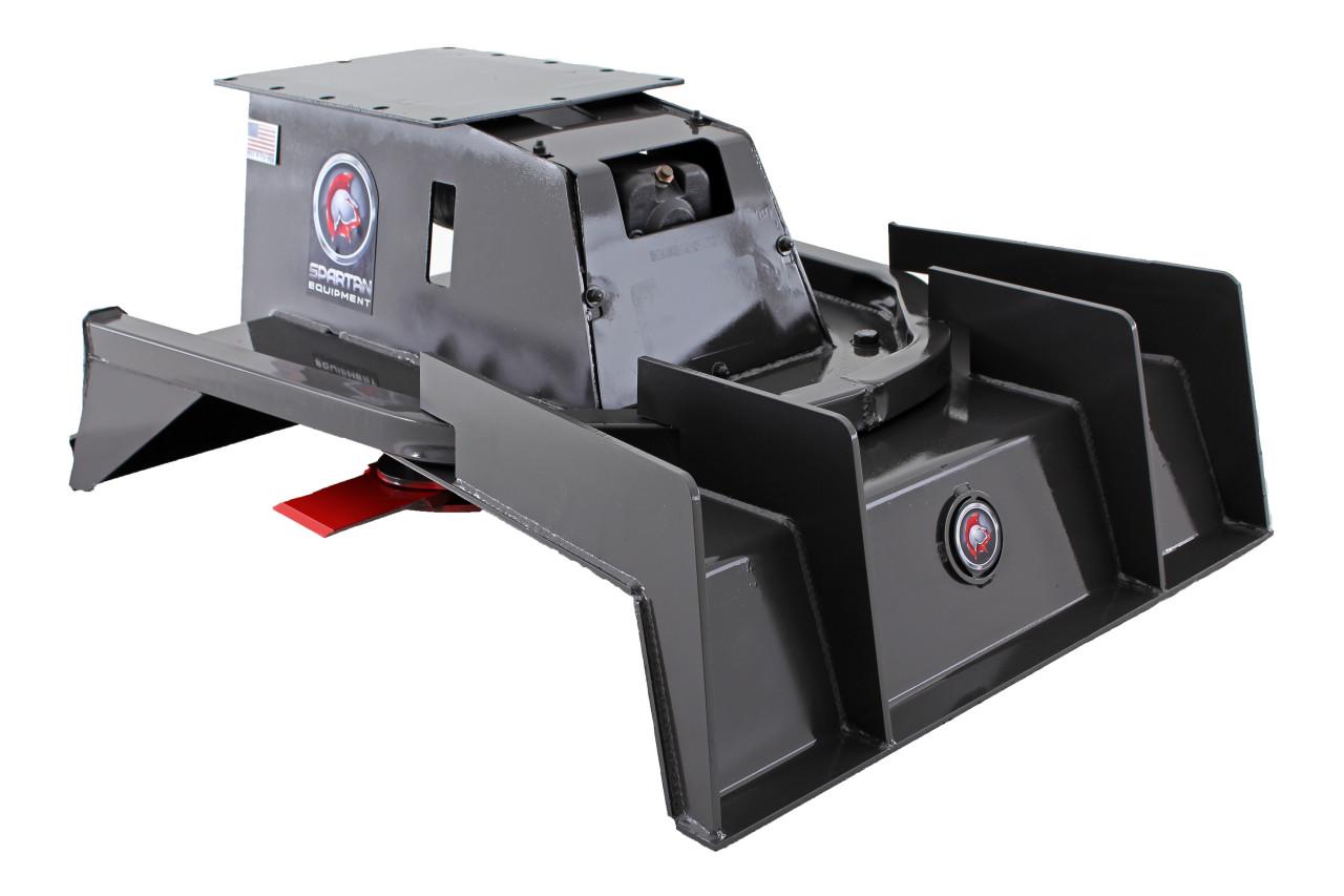 """Mini Excavator Brush Cutter 42"""" Wide 2 Blade (10-20 gpm)"""