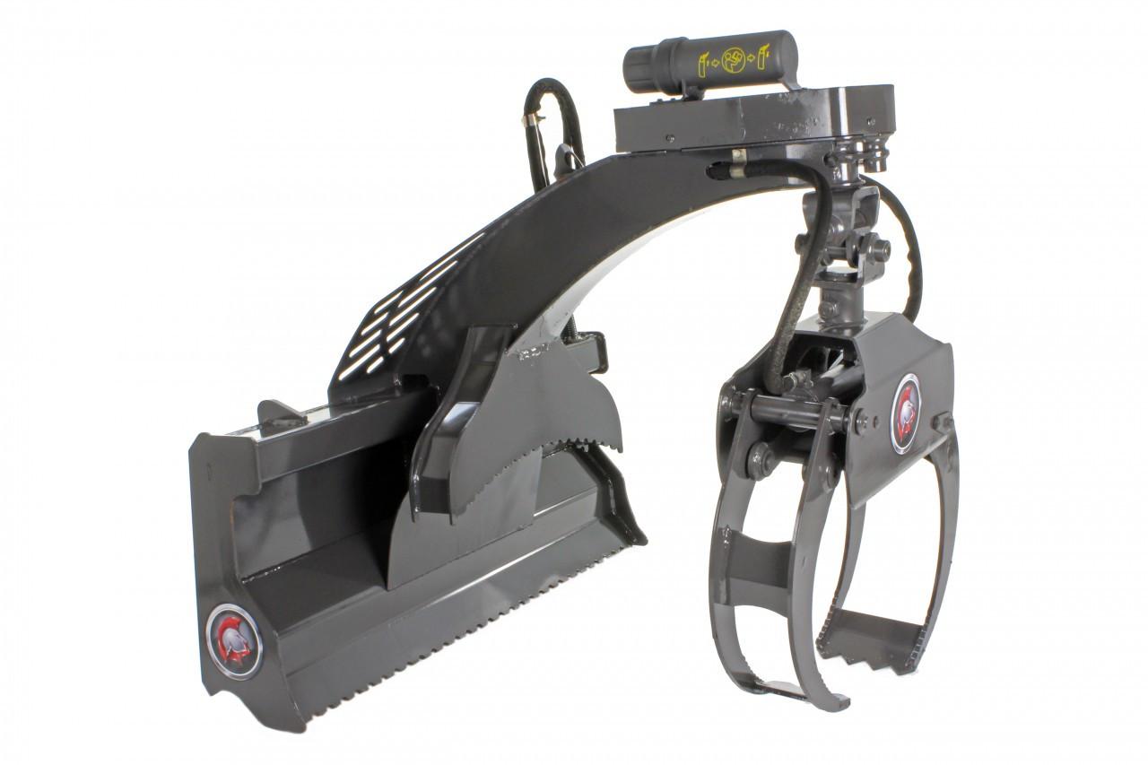 Skid Steer Multi-Purpose Grapple (Hydraulic Rotating)