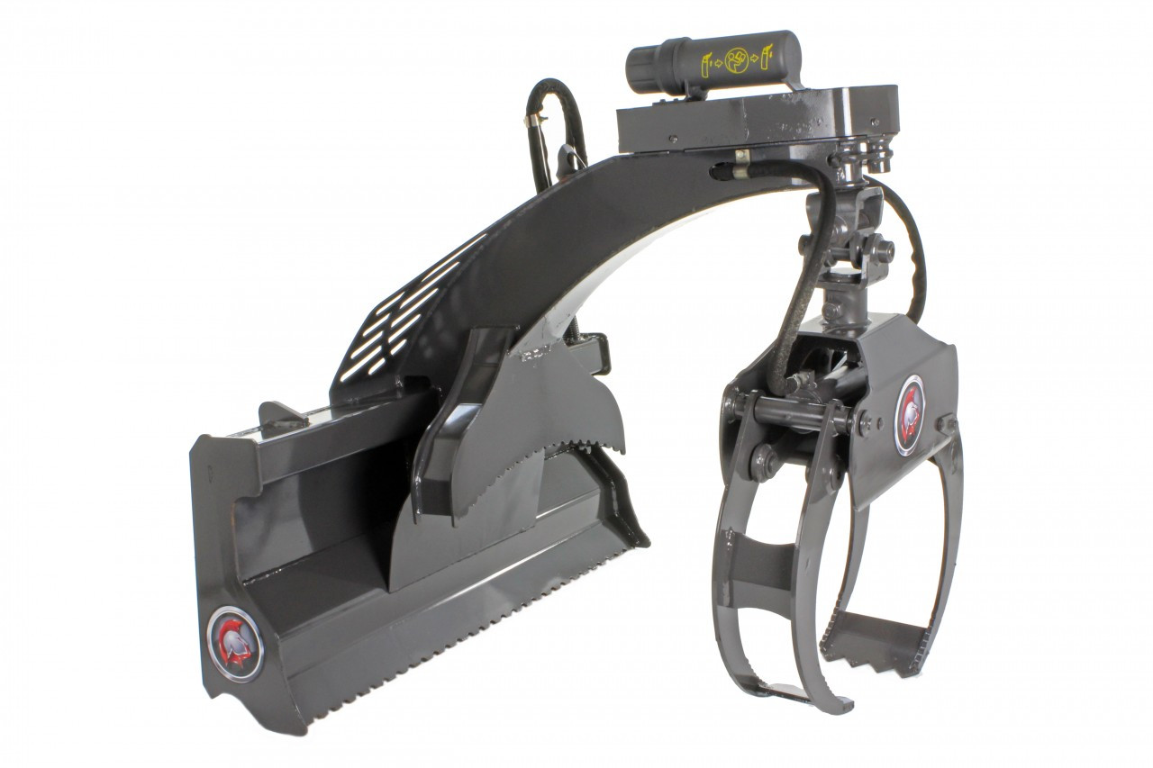 Skid Steer Multi-Purpose Grapple (Hydraulic Rotating)