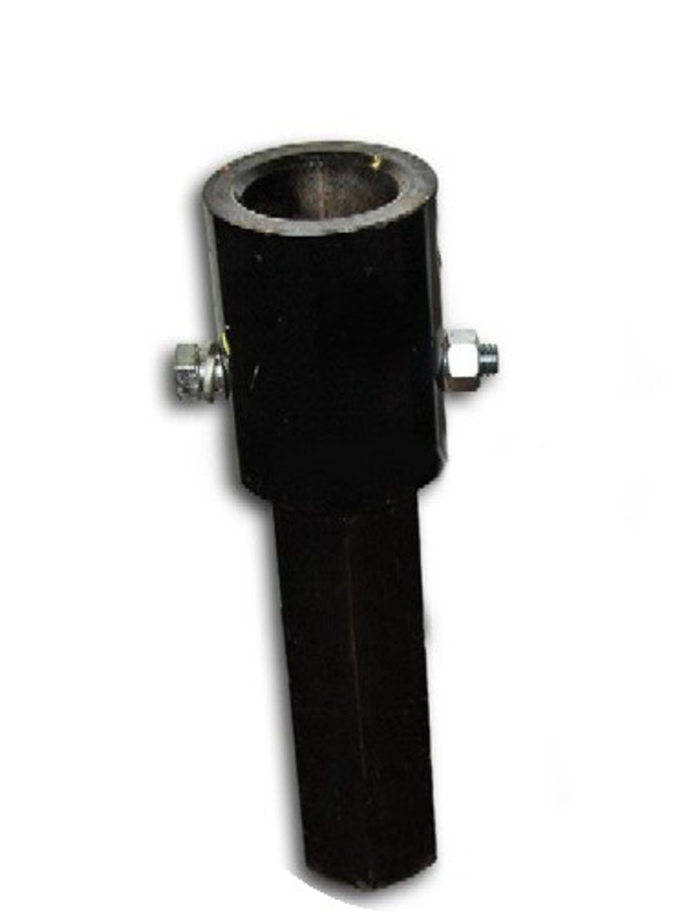 "Skid Steer Auger Adapter 2"" Round to 2.56"" Round"