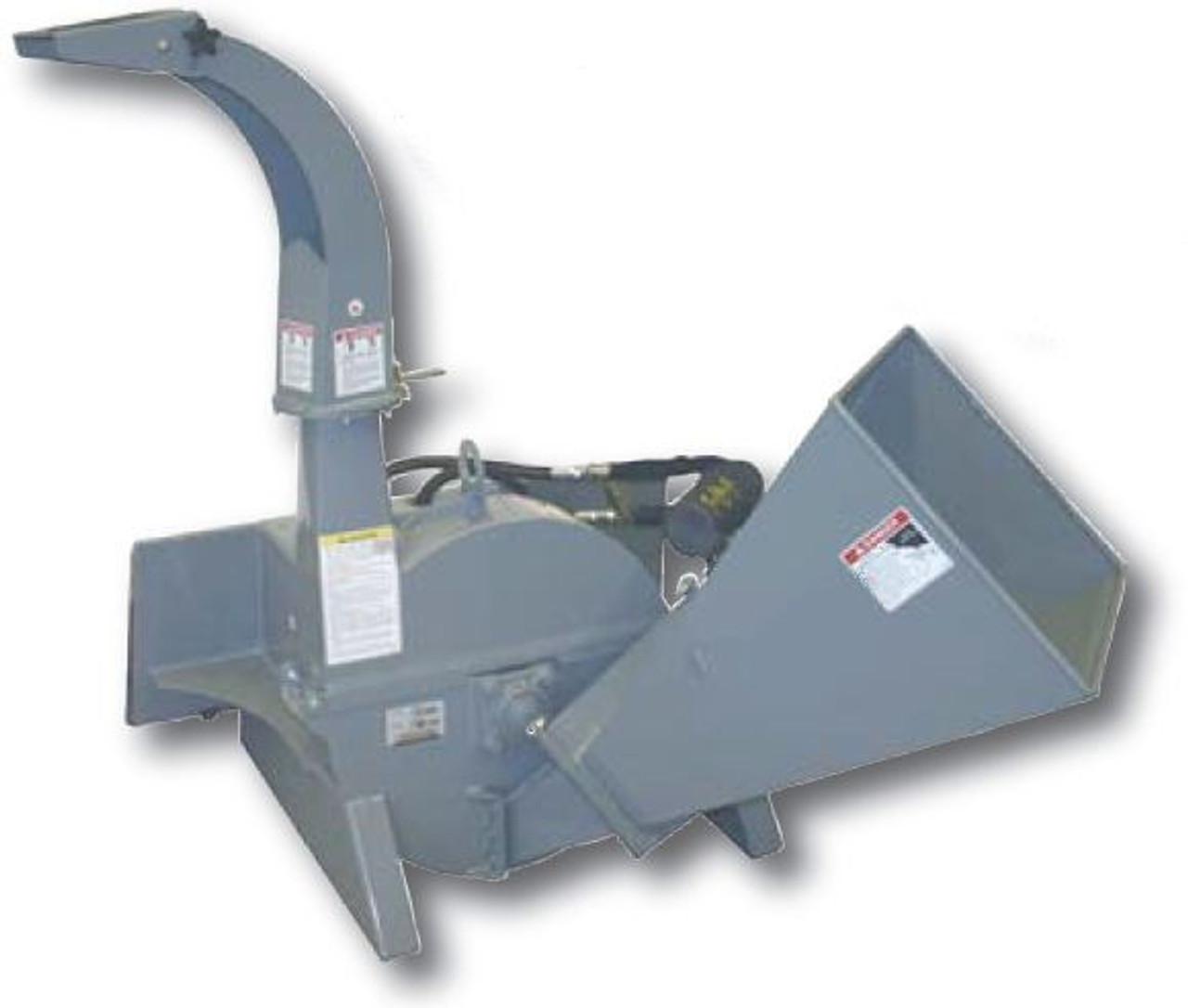 "Skid Steer Chipper Attachment Standard Flow (4"" dia Material)"