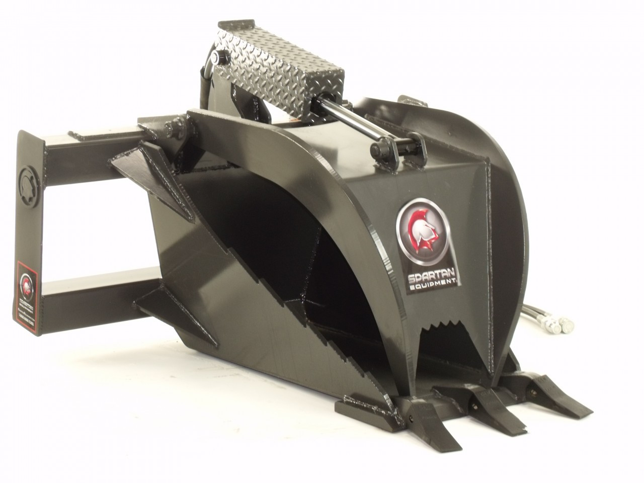 Skid Steer Stump Grapple Attachment Industrial Series