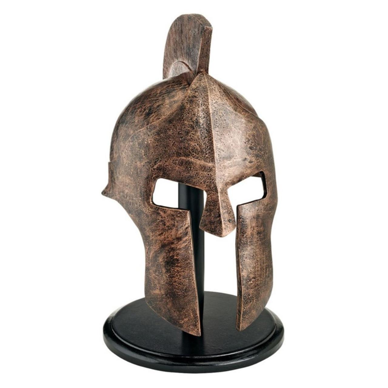 Spartan Warrior Helmet With Stand