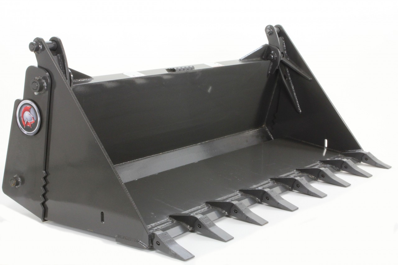 "72"" Wide 4 In 1 Combination Bucket Attachment With Teeth (Industrial Series)"