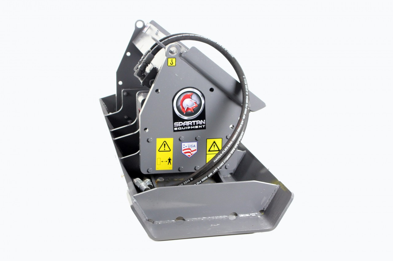 Skid Steer Vibratory Plate Compactor Attachment 84