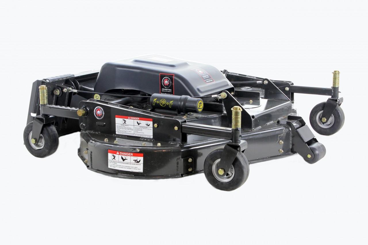 """90"""" Wide Skid Steer Mower Attachment"""