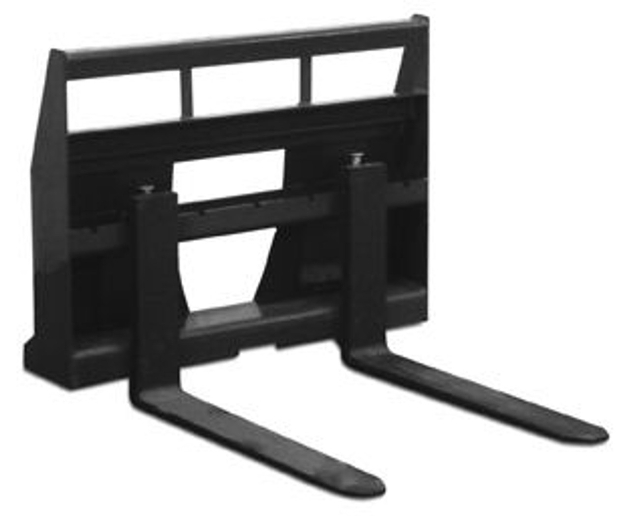 "Mini Skid Steer Pallet Forks for Bobcat MT50 | MT52 | MT55 Universal Mount 42"" Forks"