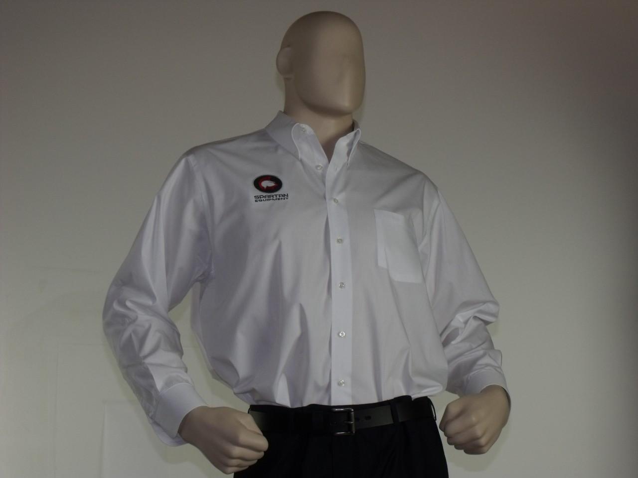 Spartan Dress Shirt White