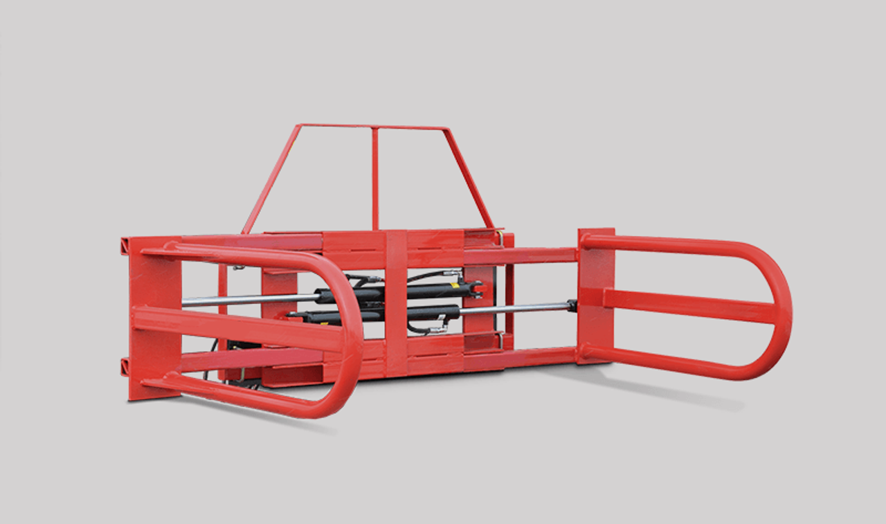 Skid Steer Bale Squeeze Attachment (Square Bales)